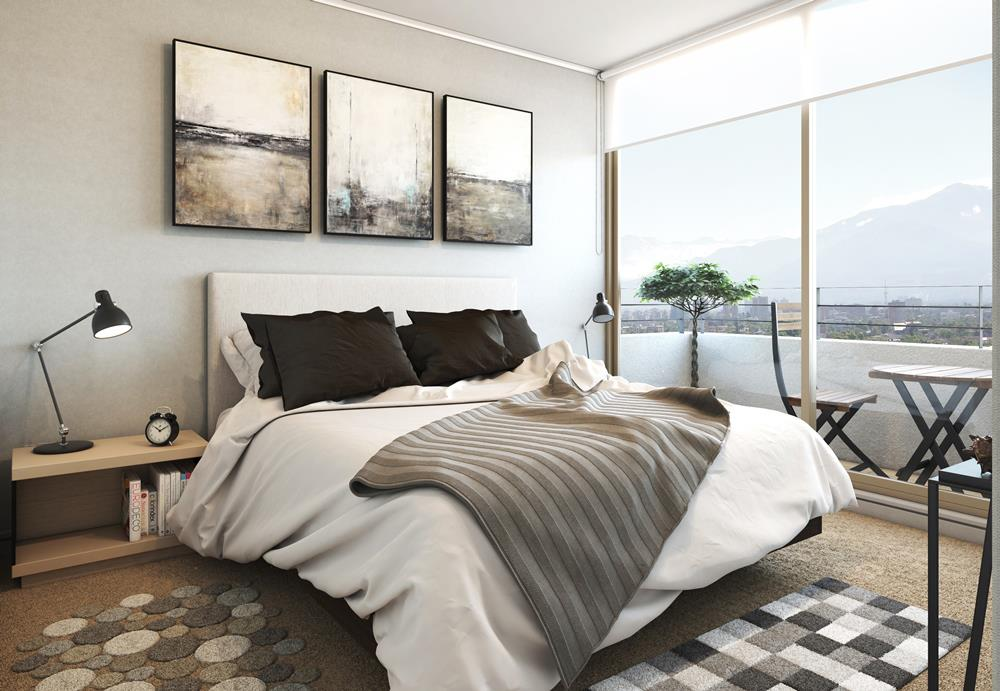 vista-nova-santiago-Dormitorio